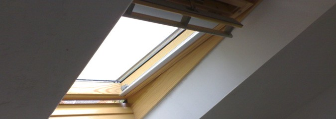 Roof lights by Velux windows