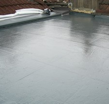 Economical flat roofing systems